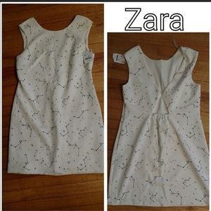 Zara Constellation print dress XL Trafaluc